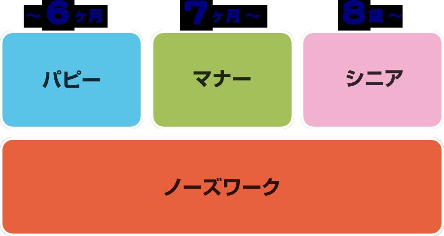 4種類のコース